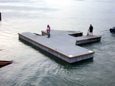 Custom Floating Docks