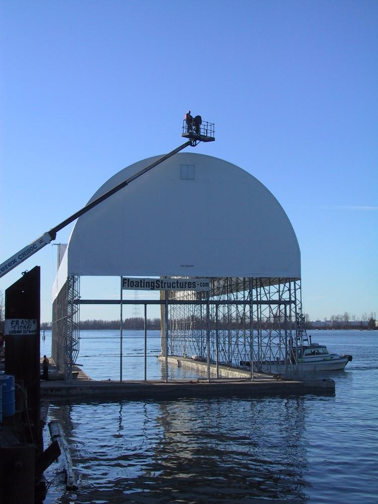 Sitka Yacht Enclosure